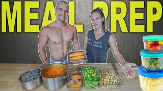 MEAL PREP FOR STAYING LEAN & HEALTHY | Batch Cooking Easy Vegan Staples
