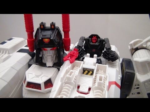 Metroplex Transformers Generations Titan Class Toy Review video