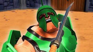 DEFEATING THE HARDEST BOSS! (Gladiator VR)