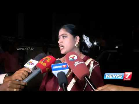 Tamil Nadu Mahila Congress chief Vijaydharani speaks after being axed | News7 Tamil