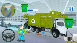 Road Garbage Dump Truck Driver - Android Gameplay FHD