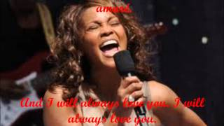 Whitney Houston I will always love you Subtitulado