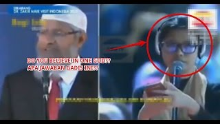 DIALOG DR  ZAKIR NAIK   NEW 3 WITH A NEW SISTER IN ISLAM