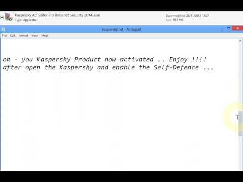 Free Kaspersky Internet security 2014 Activator By Sanjaya Dharmasiri