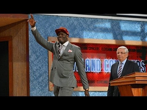 Cavaliers select Anthony Bennett 1st overall at NBA draft!
