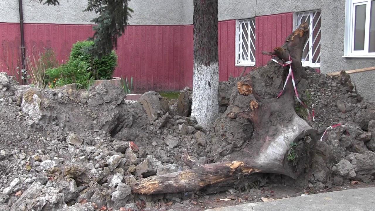У Калуші біля палацу культури «Юність» дитина провалилася в яму