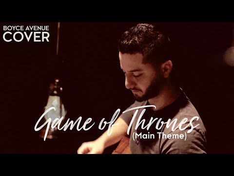 Game Of Thrones (main Theme)(boyce Avenue Acoustic Cover) On Spotify & Itunes video