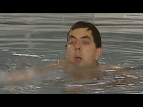 Mr Bean - Naked swimming