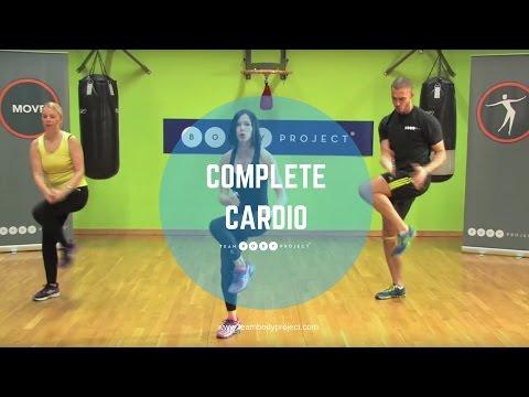 Intermediate Cardio Workout video