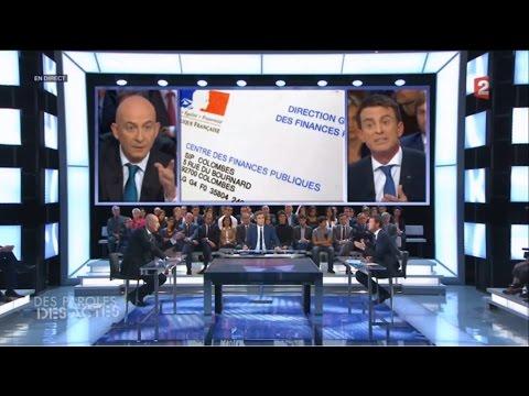 François Lenglet explose Manuel Valls (24 septembre 2015)
