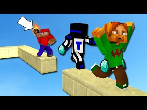 ОГНЕННЫЙ ШАР НА БЕД ВАРСЕ - Minecraft Bed Wars