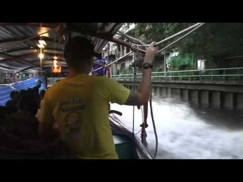 Fast Boat Ride In Bangkok's Canals