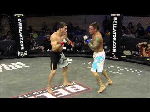 Bellator 36 Highlight: Patricky &quot;Pitbull&quot; Freire TKO of  &quot;Razor&quot; Rob McCullough
