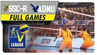 SSC-R vs ADMU | Full Game | August 6, 2016 | Shakey's V-League | Collegiate Conference 2016
