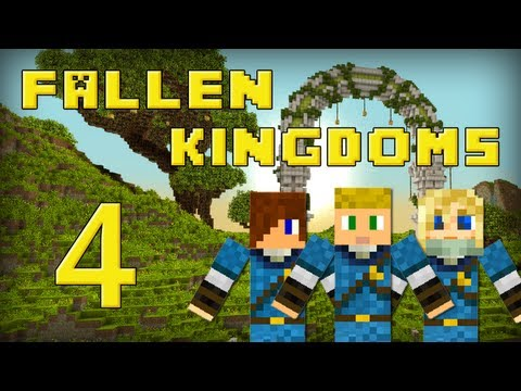 Fallen Kingdoms : Siphano, Leozangdar, Husky | Jour 4 - Minecraft video
