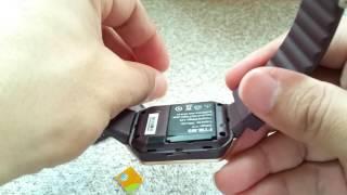 What size SIM card the DZ09 smartwatch use? ⌚