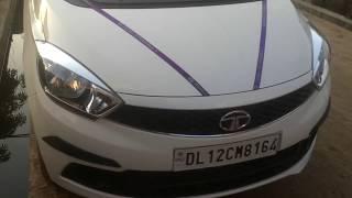 Tata Tiago XT (white) 2018, interior and exterior walk-around