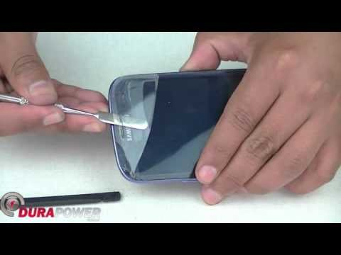 How to Replace Glass Screen Samsung S3 i 9300