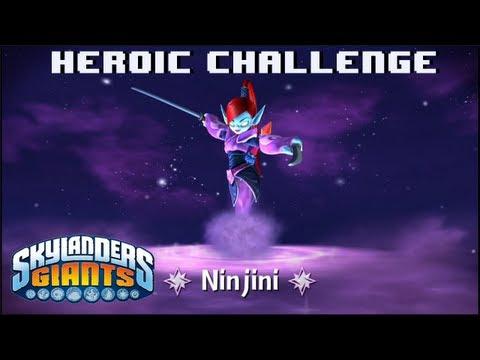 Skylanders giants ninjini heroic challenge woolly bullies 1080p hd