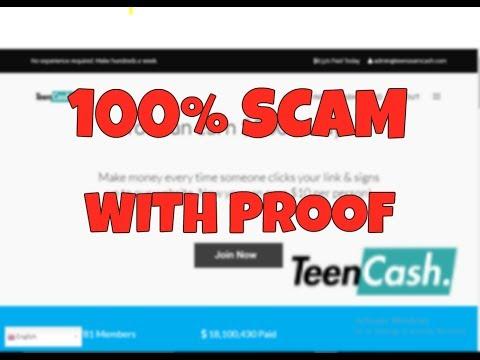 Teensearncash.com 100% Scam Website with proof