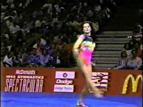 Nadia Comaneci 1992 McDonald's Gymnastics Spectacular with Bart Conner