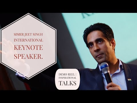 Motivational Speaker in Malaysia - Simerjeet Singh - Corporate Trainer, Leadership Keynote Speaker