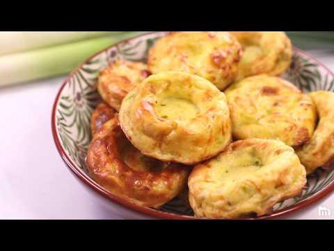 Recette légère de GALETTE de légumes : poireaux et oignons