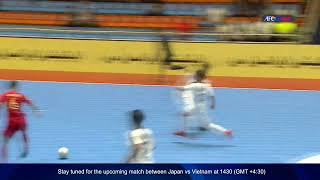 M09 Iraq vs Indonesia AFC U20 Futsal Championship IR Iran 2019