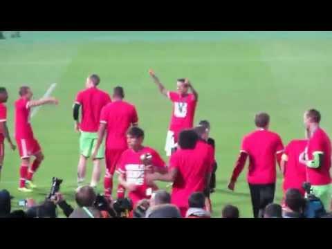 Allez Allez Oho - Bayern Munich Celebration - FIFA Club World Cup 2013 Morocco