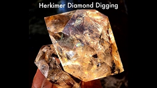 The Crystal Collector & Jerry Oxide Find a Herkimer Pocket *LIVE*
