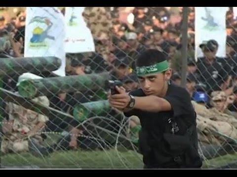 25,000 Gaza youth finish Hamas-backed paramilitary training