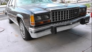 Classy Car! Lets Get To Know The 1985 Ford LTD Crown Victoria!