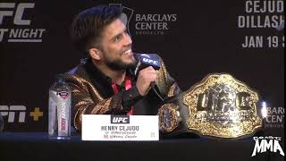 Dana White Says Henry Cejudo Looks Like A Game Show Host