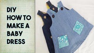 DIY: Easy Baby Dress - Free Pattern Craftbrulee