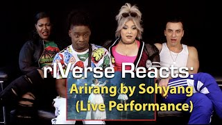 rIVerse Reacts: Arirang by Sohyang - Live Performance Reaction