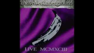 The Velvet Underground Live Mcmxciii With Lou Reed
