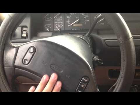 97 F250 loose steering wheel