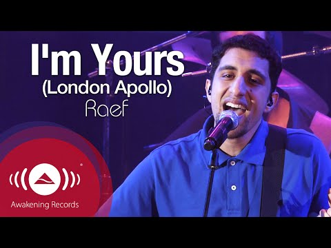 Raef - I'm Yours | Awakening Live At The London Apollo video