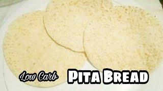 Low Carb LC Pita Bread Coconut Wrap Keto Recipe LCIF Philippines Association | Misis B's Cube