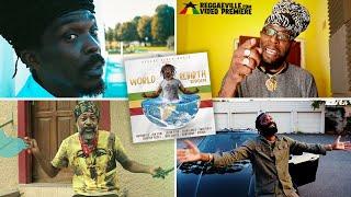 Anthony B, Ginjah, Jah Cure, Lutan Fyah & more - World Rebirth Riddim Medley   2021