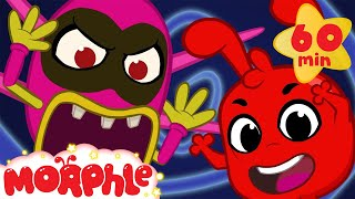 Boo! Halloween with Morphle and the cute but scary monster!