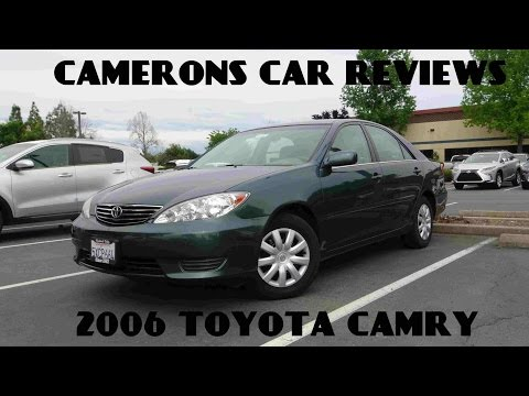 2006 Toyota Camry LE 2.4 L 4-Cylinder Review | Camerons Car Reviews