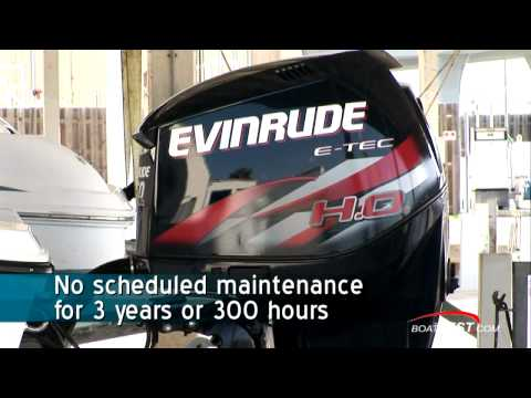 Evinrude E-TEC 250 H.O. (HO)  Engine Feature Reviews / Test - by BoatTest.com