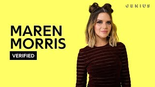 Maren Morris 34 Girl 34 Official Meaning Verified
