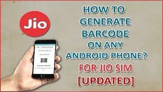 Hindi | Reliance Jio Barcode Generate New Trick Using My Jio Old Apk