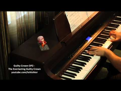 Guilty Crown Op2 - The Everlasting Guilty Crown (piano Transcription) video