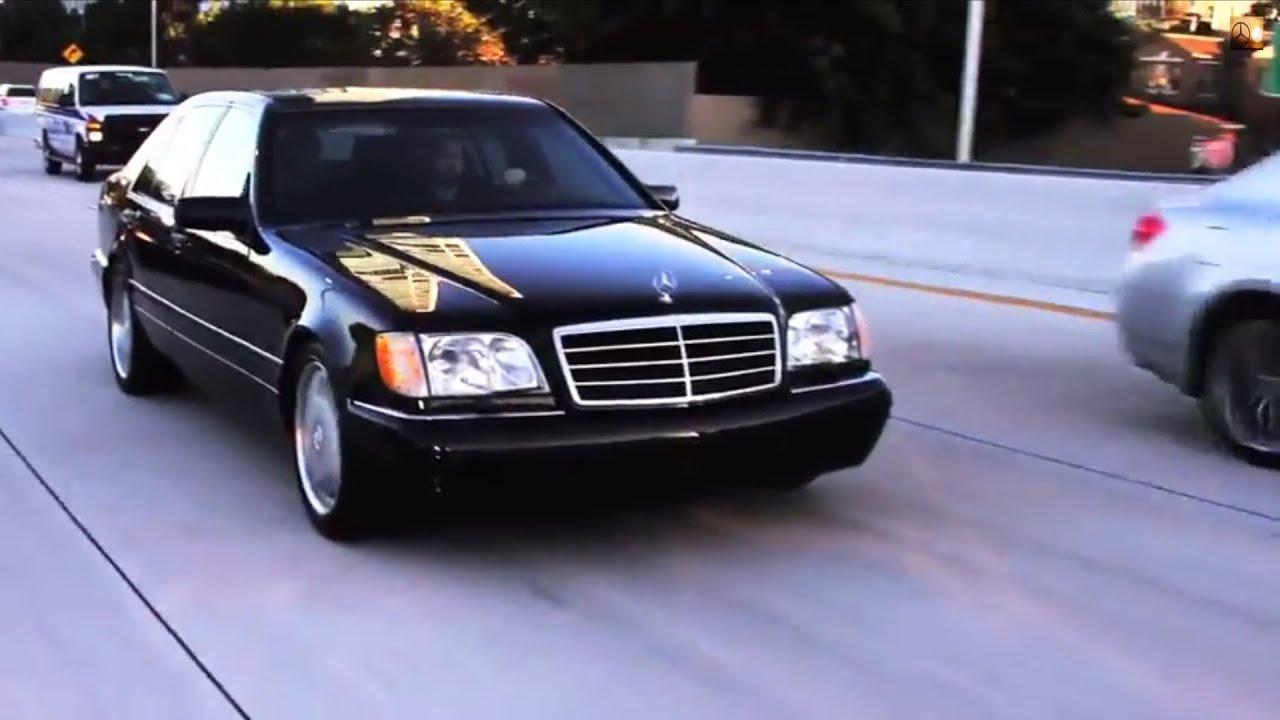 Mercedes-benz w140 s600 w12 - 01