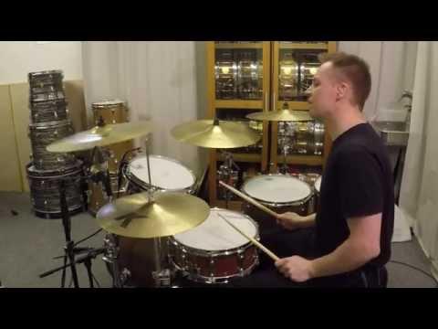Aretha Franklin - Rock Steady (Drum Cover) by Kai Jokiaho