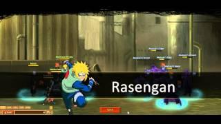 Anime Ninja/Unlimited Ninja (God's Trial Normal) Gameplay Part 1