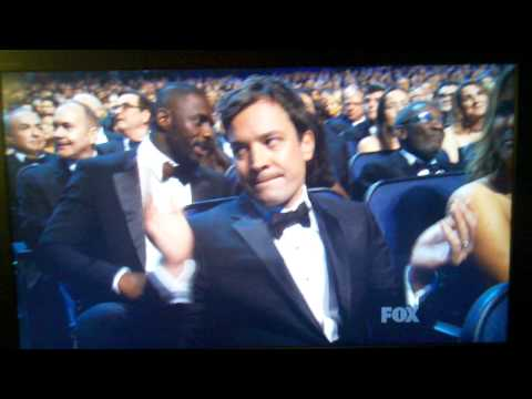 Jimmy Fallon funny reaction to Jon Stewart s Emmy